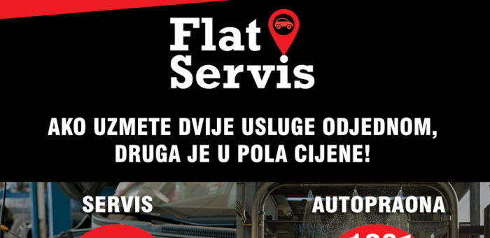 Akcija FLAT SERVISA!
