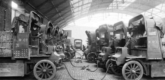 Povijest elektro vozila