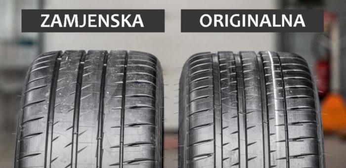 Tvorničke' ili zamjenske gume?